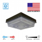 Image 2 of Alcon 16008 Low-Profile Aluminum LED Canopy Light