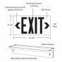 Image 2 of Alcon Lighting 16117 Photoluminescent LED Exit Sign