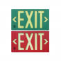 Image 1 of Alcon Lighting 16117 Photoluminescent LED Exit Sign