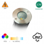 Image 2 of Alcon 9033 Aluminum Outdoor LED 10W Remote Controlled RGBW + 3000K Color Changing Well Light