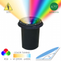 Image 2 of Alcon 9044 RGBW Color-Tuning LED Cast Aluminum Well Light 120V