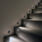 Image 3 of Alcon 9056 Ara LED Architectural Round Louvre Step Light