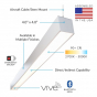 Image 4 of Alcon 12100-45-P Linear Commercial-Grade LED Pendant