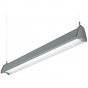 Image 4 of H.E. Williams AXA-8 Architectural Contoured Louver Fluorescent Suspended Light Fixture - 8 FT