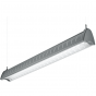 Image 2 of H.E. Williams AXA-8 Architectural Contoured Louver Fluorescent Suspended Light Fixture - 8 FT