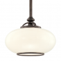Image 1 of Hudson Valley Canton 9815-OB Architectural LED Pendant Mount Light Fixture