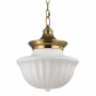 Image 1 of Hudson Valley Dutchess 5015-AGB Architectural LED Pendant Mount Light Fixture