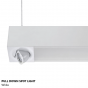 Alcon Lighting 12000-2 Tesla Dual Spot Light Architectural LED Linear Suspension Lighting Pendant Mount Direct/Indirect Fixture