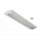 Alcon Lighting Reyon Series 10124-8 Architectural Low Profile 8 Foot Fluorescent Suspended Light Fixture