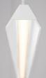Alcon Lighting 12132 Linear Trapezium 4 Foot LED Pendant Mount Lighting Fixture
