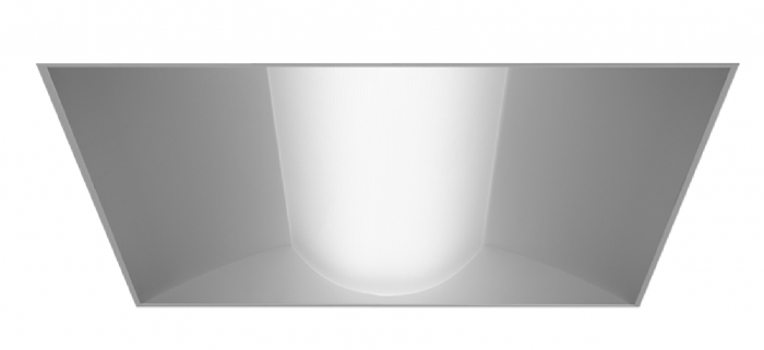 Alcon Lighting 14010 Prime Architectural LED Low Profile Recessed Center Basket Ribbed Direct Light Troffer