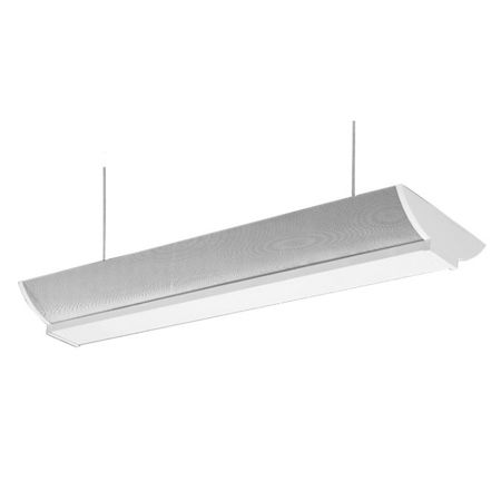 FSC 6248 Direct Indirect Linear Fluorescent Suspended Pendant Light Strip for Office or Retail Lighting