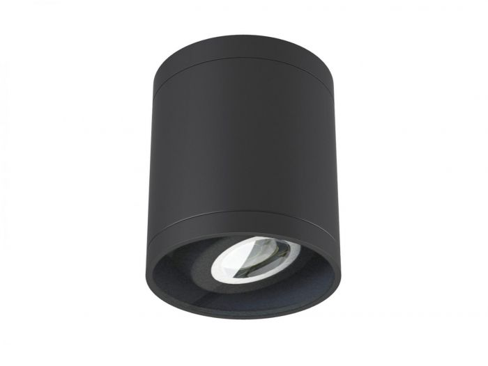 Alcon Lighting 11235-ADJ Pavo Architectural LED 4 Inch Round Cylinder Surface Ceiling Mount Adjustable Down Light Fixture