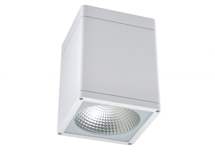 Alcon Lighting 11223-DIR Pavo Architectural LED 4 Inch Square Surface Ceiling Mount Direct Down Light Fixture
