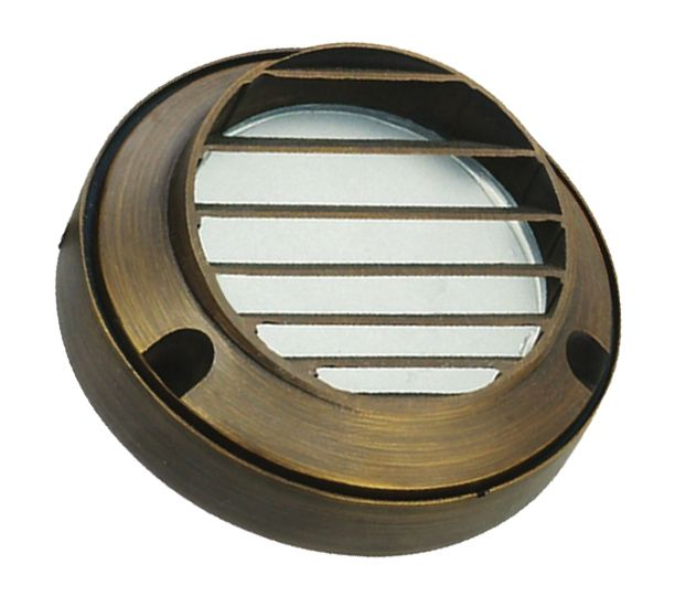 Image 1 of Alcon Lighting 9206-S Plancha Architectural LED Low Voltage Step Light Surface Mount Fixture
