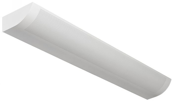 Alcon Lighting 6021-4 Fluorescent Indoor Modern Architectural 4 Foot Wall Mount Luminaire - Direct/Indirect Damp Rated
