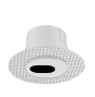 Alcon Lighting 14013-S Illusione 4 Inch Architectural LED Round Trimless Recessed Slot Light Fixture