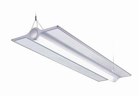 Alcon Lighting 12252 Saber Plane 4 Foot Architectural LED Suspended Mount Direct/Indirect Light Fixture