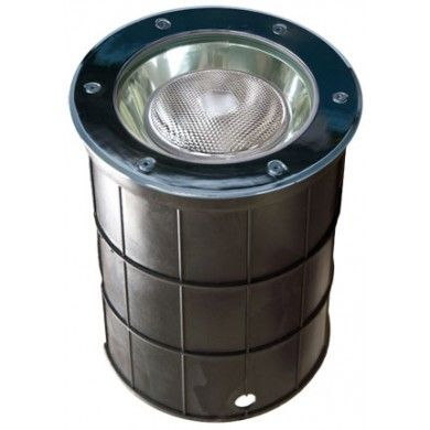 Alcon Lighting 9094 Canna Architectural Landscape LED 10 Inch In-Ground Stainless Steel Well Light
