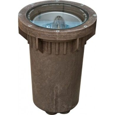 Alcon Lighting 9102 Opal Architectural Marine LED 12 Inch In-Ground Fiberglass Well Light