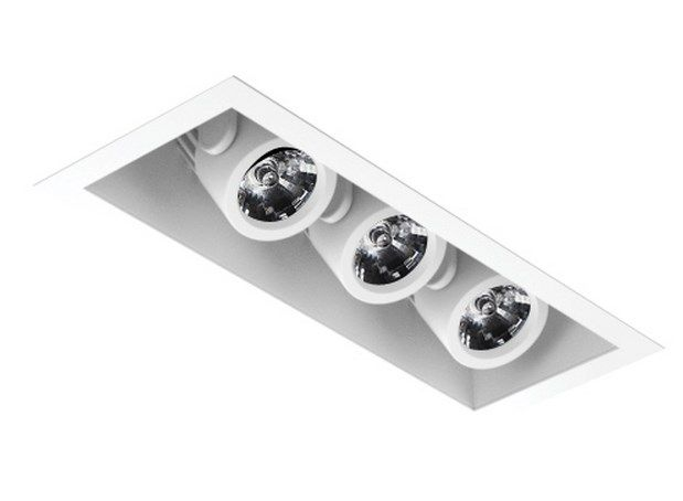 Image 1 of Intense Lighting MXRTR3 MX Triple LED Recessed Lighting Multiple - 3 Light + Housing + Trim