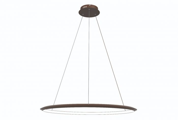 Image 1 of Alcon Lighting 12279-1 Redondo Suspended Architectural LED 1 Tier Ring Direct Indirect Chandelier Light