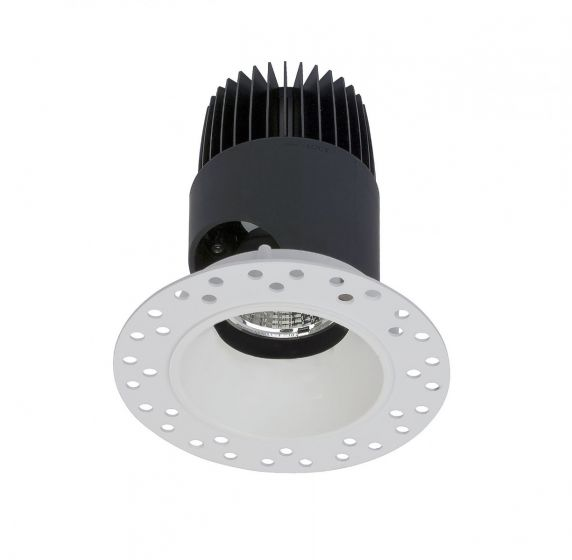 Alcon Lighting 14121-DIR Illusione 2.5 Inch Architectural LED Fixed Round Trimless Recessed Direct Down Light Fixture