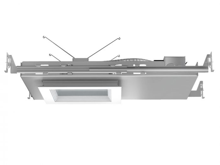 Image 1 of Alcon Lighting 14077 Hal 5 Inch Architectural IC LED Super Shallow Square Recessed Direct Downlight Luminaire