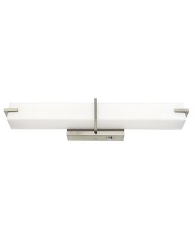 Alcon 11124 24 Inch LED Square Vanity Light - Color Temperature Switching