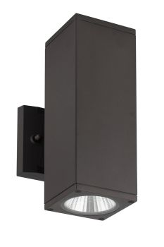 Alcon 11137 Architectural 4 Inch Square 2-Direction LED Wall Mount  Light