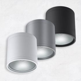 Alcon 11236-DIR Pavo Architectural LED 6 Inch Cylinder Ceiling Light