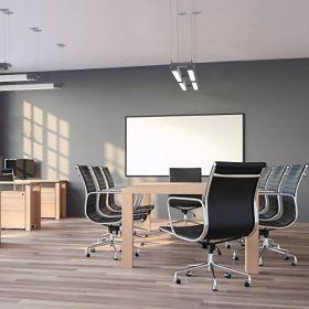 Alcon 12100-23-DU Architectural Dual LED Bar Pendant Light