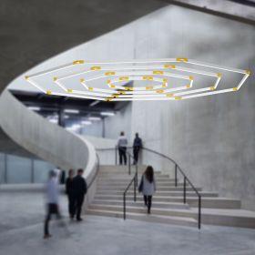 Alcon 12100-23-OG Architectural Octagon LED Pendant Light