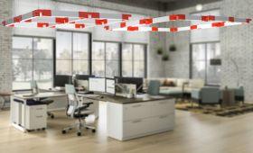 Alcon 12100-23-SQ Architectural Square LED Pendant Light