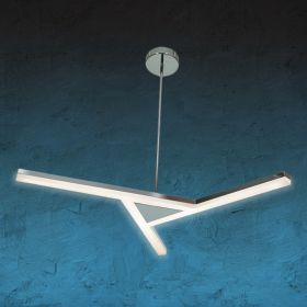 Alcon 12141 LED 3-Light Semi-Flush Pendant Light
