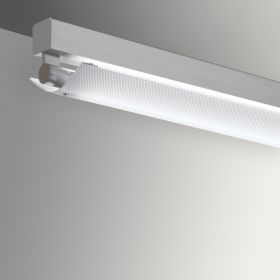 Gladstone Adjustable Architectural LED Strip Light Pendant - Perforated Direct/Indirect