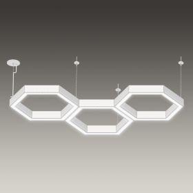 Alcon 12175-P-TRI 3-Light Pendant Mount Hexagon