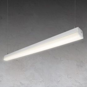 Alcon 12185-P Vela Commercial-Grade Linear LED Pendant Light