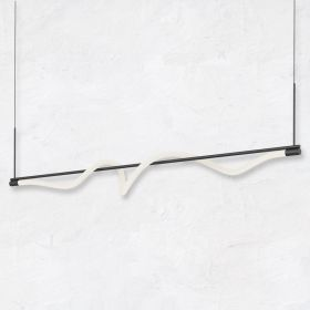 Alcon 12250 Architectural 54-Inch LED Curved Tube Pendant