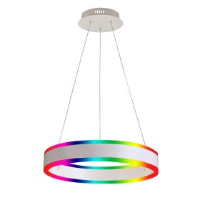 Alcon 12270-1-RGBW Redondo Suspended Architectural LED 1 Tier Ring Chandelier