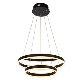 Alcon 12270-2 Redondo Suspended Architectural LED 2 Tier Ring Chandelier