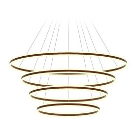 Alcon 12270-4 Redondo Suspended Architectural LED 4 Tier Ring Chandelier