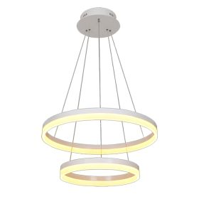 Alcon 12272-2 Redondo Architectural LED 2 Tier Ring Chandelier