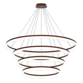 Alcon 12272-4 Redondo Architectural LED 4 Tier Ring Chandelier