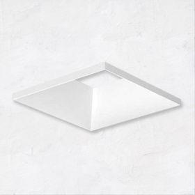 Alcon 14006-2 Illusione 3-Inch Architectural Open Reflector LED Square Recessed Light