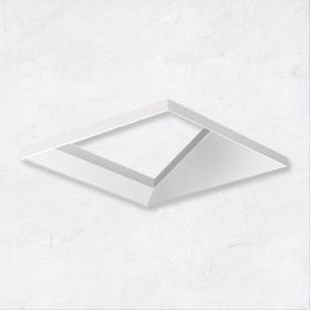 Alcon 14006-4 Illusione Trimless 3-Inch Open Reflector Wall Wash LED Recessed Light
