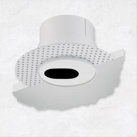 Alcon 14013-S Illusione 4-Inch LED Slot Recessed Light
