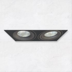 Alcon 14026-2 Oculare 2-Head Trimless Adjustable LED Recessed Light