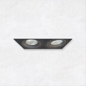 Alcon 14026-2 Oculare 2-Head Trimless Adjustable LED Recessed Light