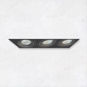 Alcon 14026-3 Oculare 3-Head Trimless Adjustable LED Recessed Light